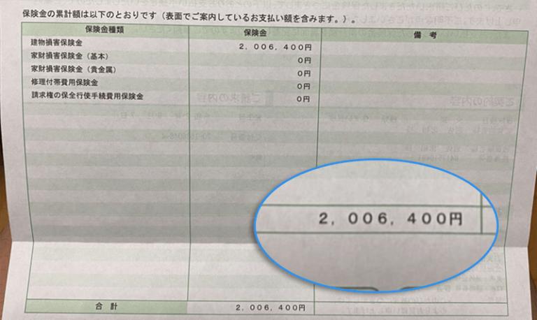 火災保険申請サポートの給付金実績1